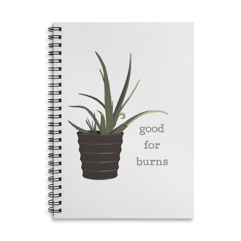 good for burns Accessories Notebook by Stark Studio Artist Shop