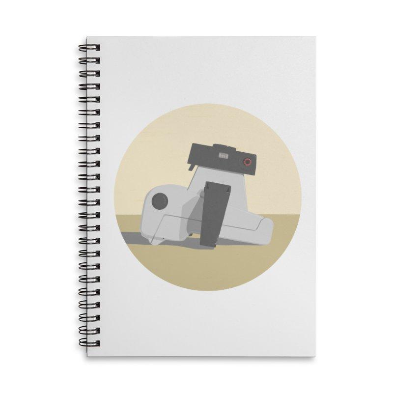 Vintage Camera Accessories Notebook by Stark Studio Artist Shop