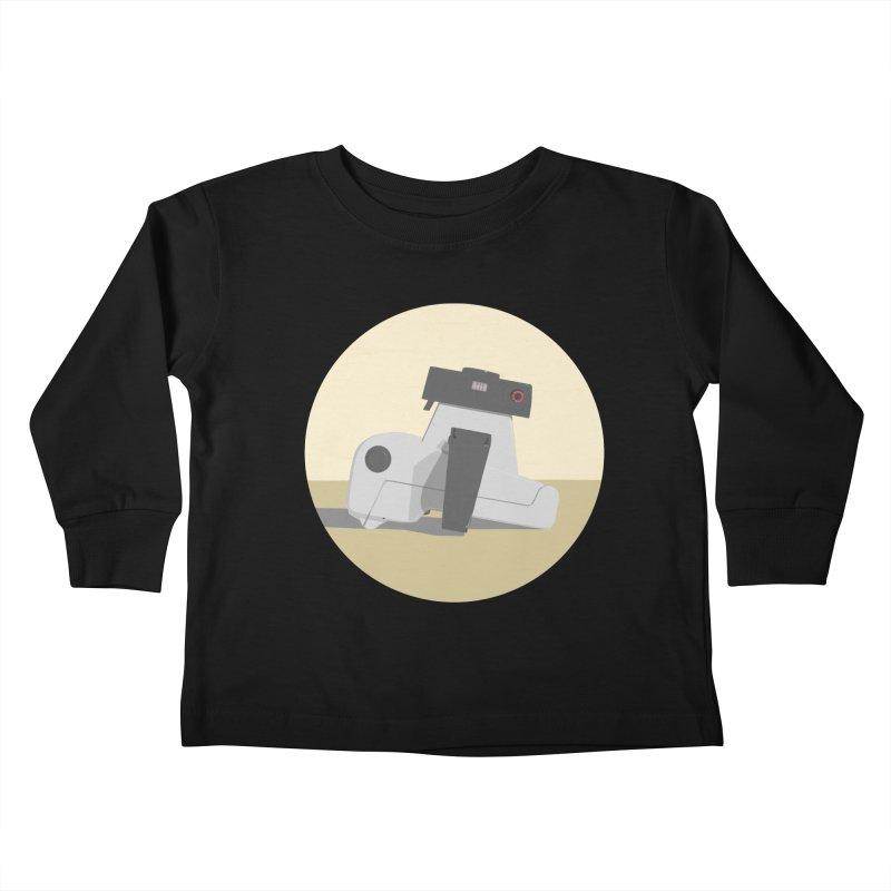 Vintage Camera Kids Toddler Longsleeve T-Shirt by Stark Studio Artist Shop