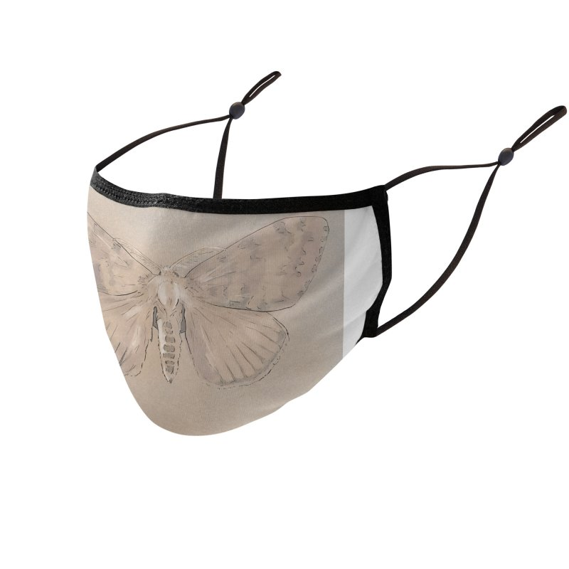 Lymantria dispar Accessories Face Mask by Stark Studio Artist Shop
