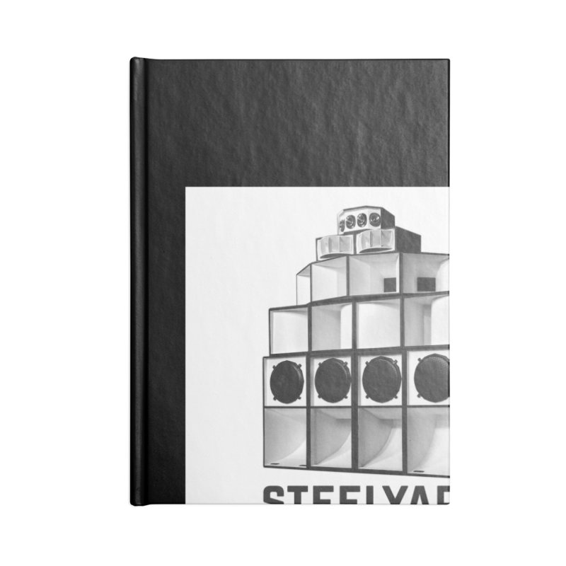 Steel Yard Sound Stack Logo Accessories Blank Journal Notebook by Steelyard Soundsystem Gear