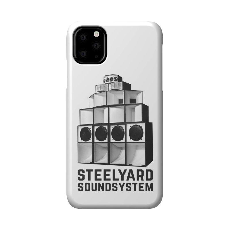 Steel Yard Sound Stack Logo Accessories Phone Case by Steelyard Soundsystem Gear