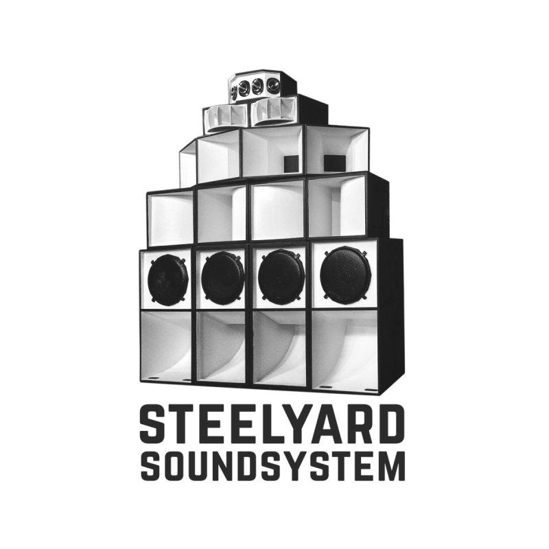 Steel Yard Sound Stack Logo Men's Pullover Hoody by Steelyard Soundsystem Gear