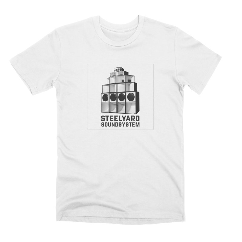 Steel Yard Sound Stack Logo Men's Premium T-Shirt by Steelyard Soundsystem Gear