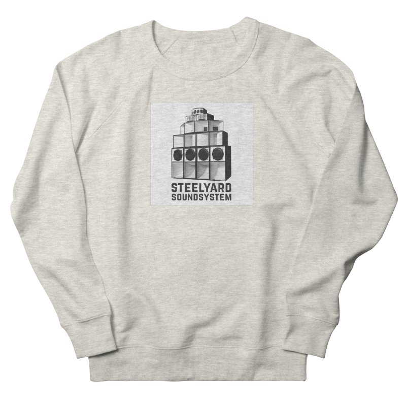 Steel Yard Sound Stack Logo Women's French Terry Sweatshirt by Steelyard Soundsystem Gear