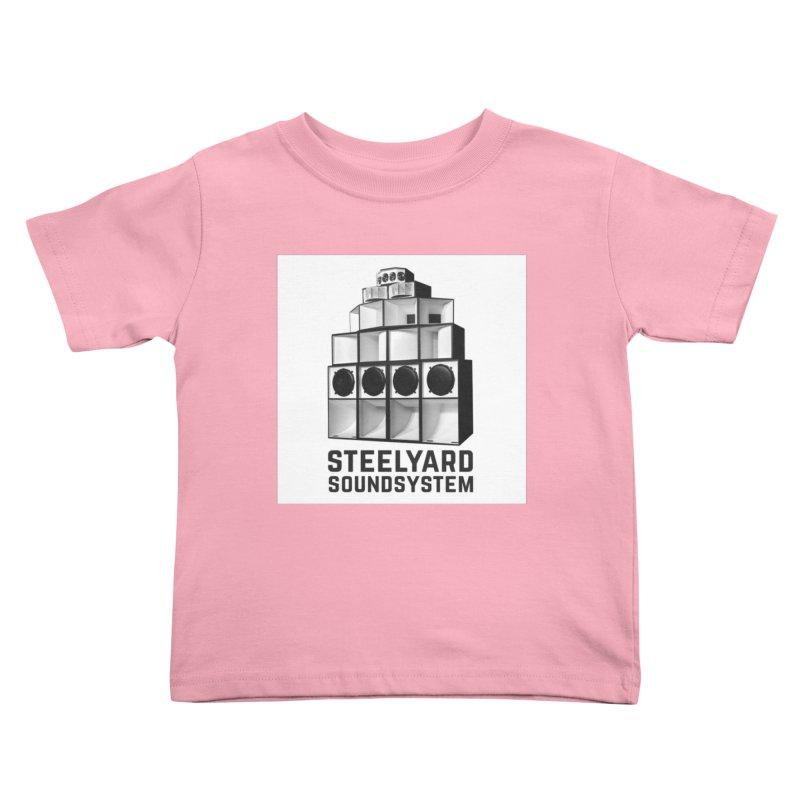 Steel Yard Sound Stack Logo Kids Toddler T-Shirt by Steelyard Soundsystem Gear
