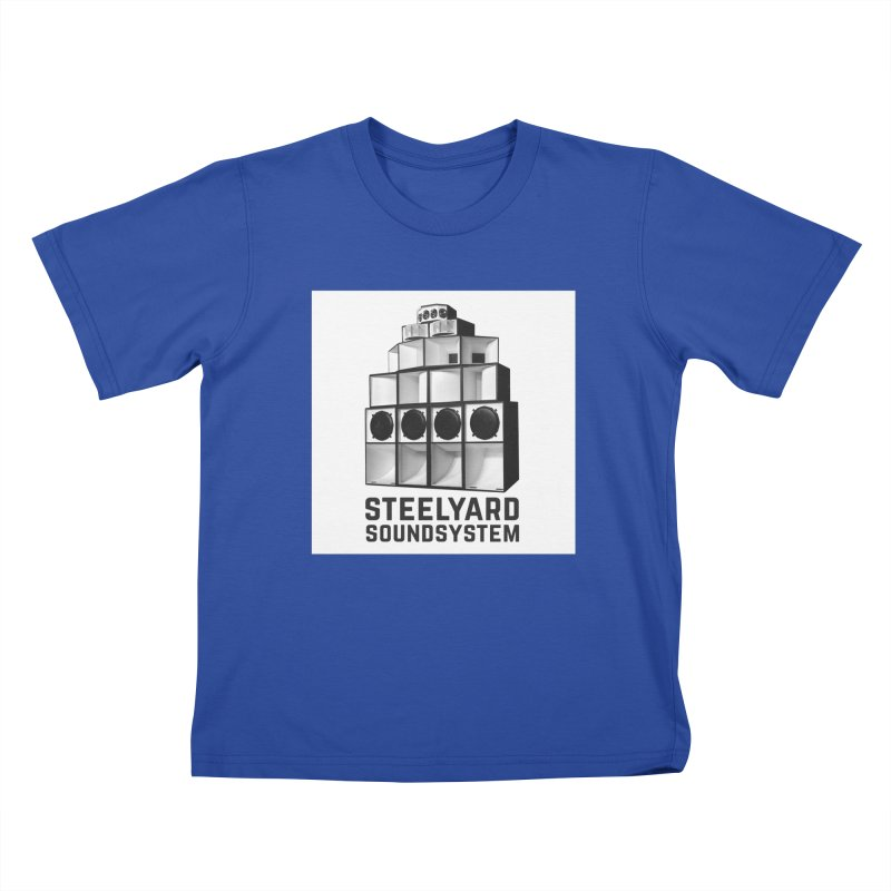 Steel Yard Sound Stack Logo Kids T-Shirt by Steelyard Soundsystem Gear
