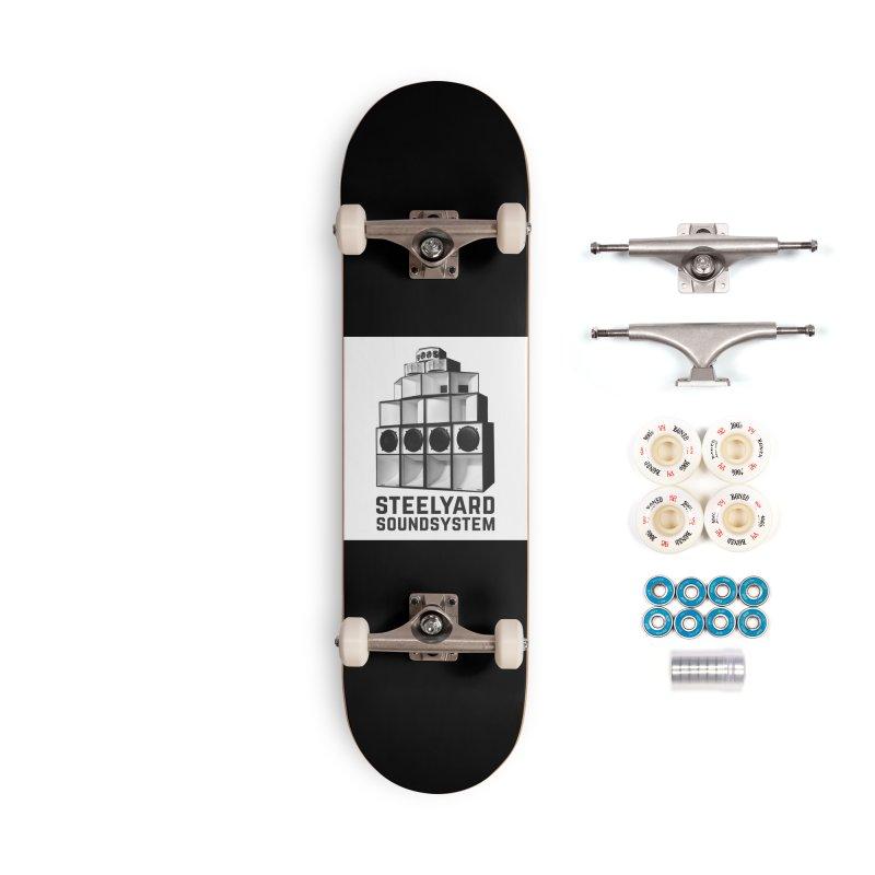 Steel Yard Sound Stack Logo Accessories Complete - Premium Skateboard by Steelyard Soundsystem Gear
