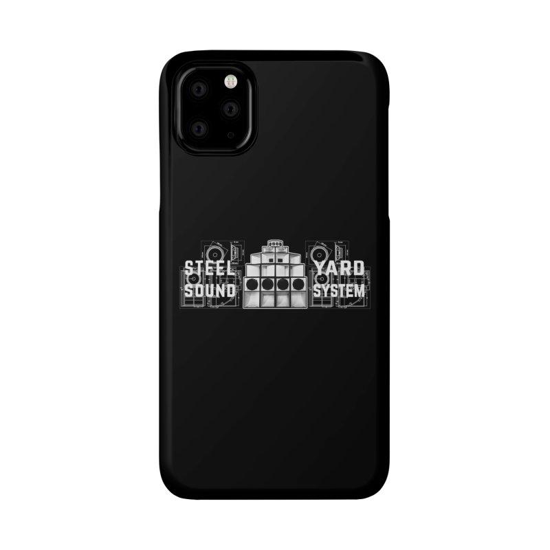 Steel Yard Sound Schematics Logo Accessories Phone Case by Steelyard Soundsystem Gear