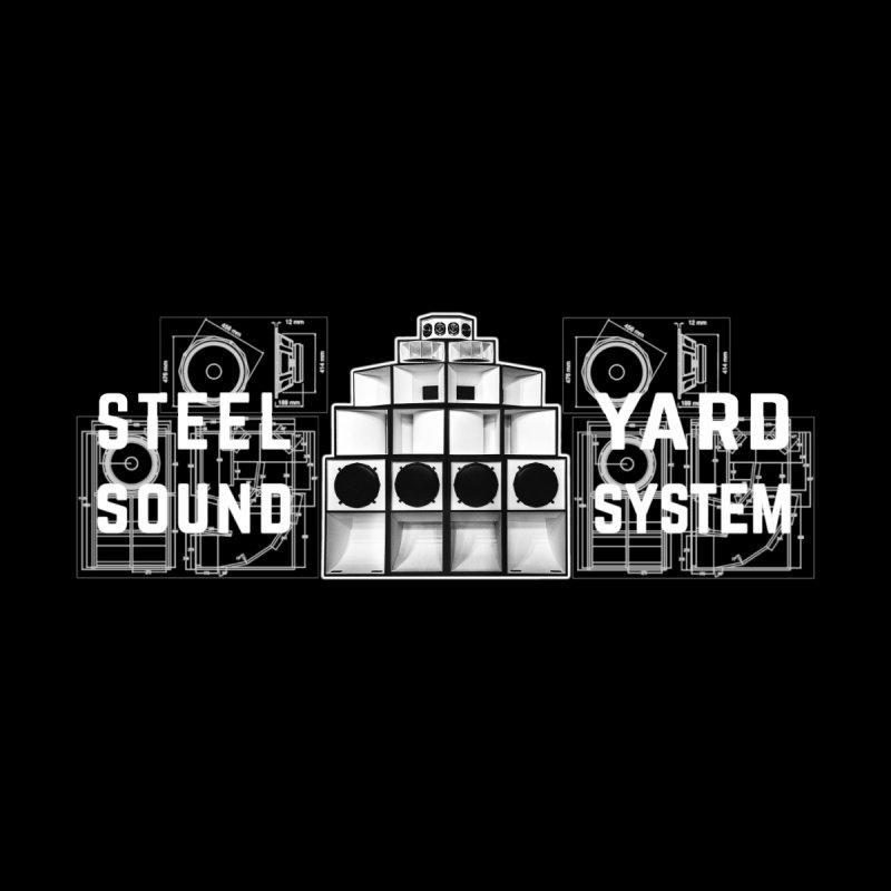 Steel Yard Sound Schematics Logo Men's Longsleeve T-Shirt by Steelyard Soundsystem Gear