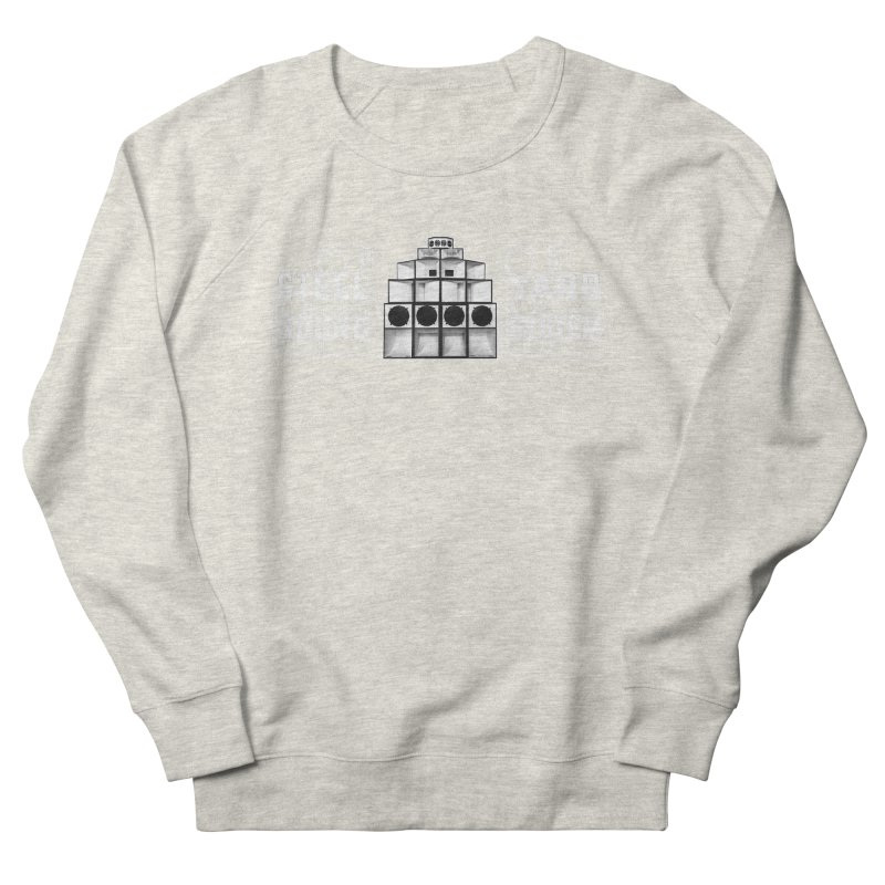 Steel Yard Sound Schematics Logo Men's French Terry Sweatshirt by Steelyard Soundsystem Gear