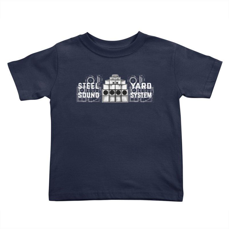 Steel Yard Sound Schematics Logo Kids Toddler T-Shirt by Steelyard Soundsystem Gear