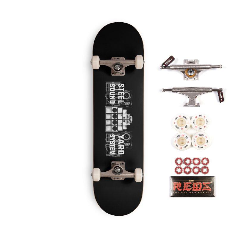 Steel Yard Sound Schematics Logo Accessories Complete - Pro Skateboard by Steelyard Soundsystem Gear