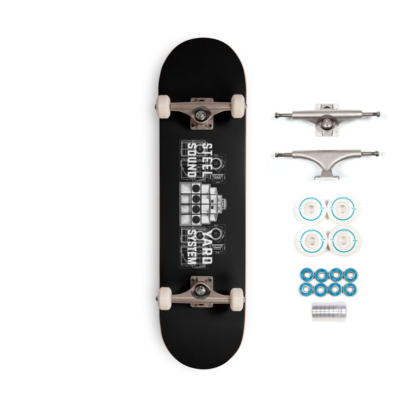 Steel Yard Sound Schematics Logo Accessories Complete - Basic Skateboard by Steelyard Soundsystem Gear