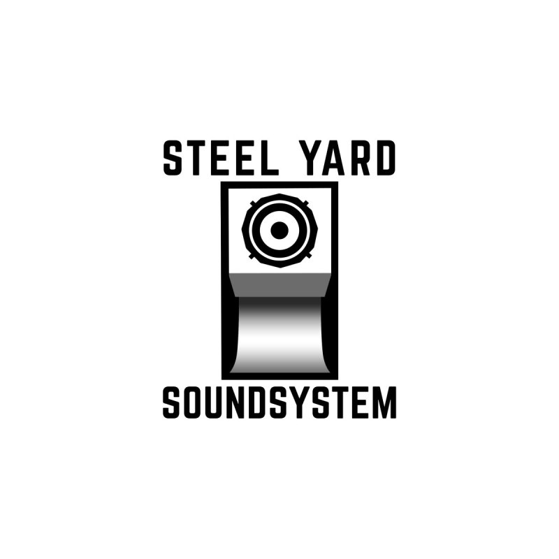 Steel Yard Scoop Speaker Graphic Men's Longsleeve T-Shirt by Steelyard Soundsystem Gear