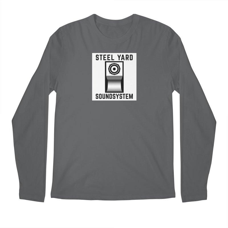 Steel Yard Scoop Speaker Graphic Men's Regular Longsleeve T-Shirt by Steelyard Soundsystem Gear