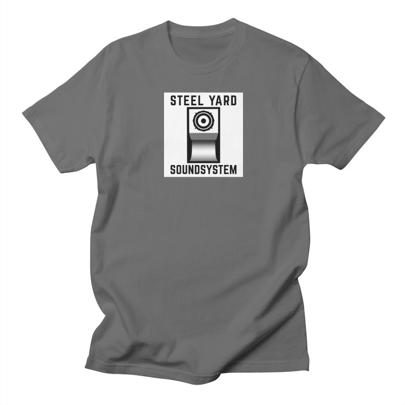 Steel Yard Scoop Speaker Graphic Men's T-Shirt by Steelyard Soundsystem Gear