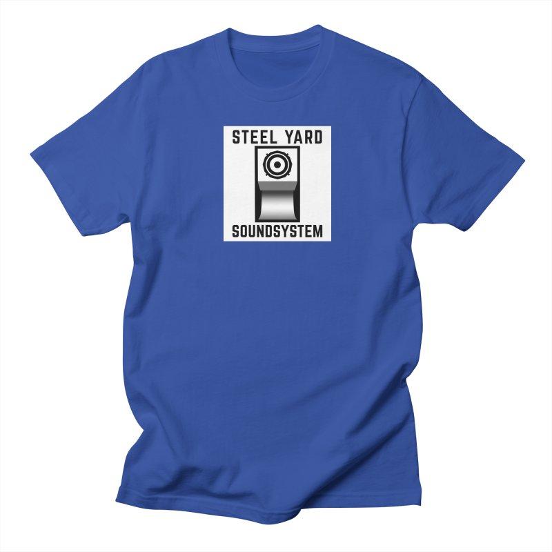 Steel Yard Scoop Speaker Graphic Women's Regular Unisex T-Shirt by Steelyard Soundsystem Gear