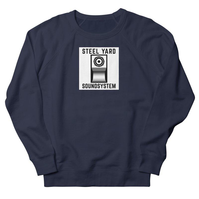 Steel Yard Scoop Speaker Graphic Women's French Terry Sweatshirt by Steelyard Soundsystem Gear