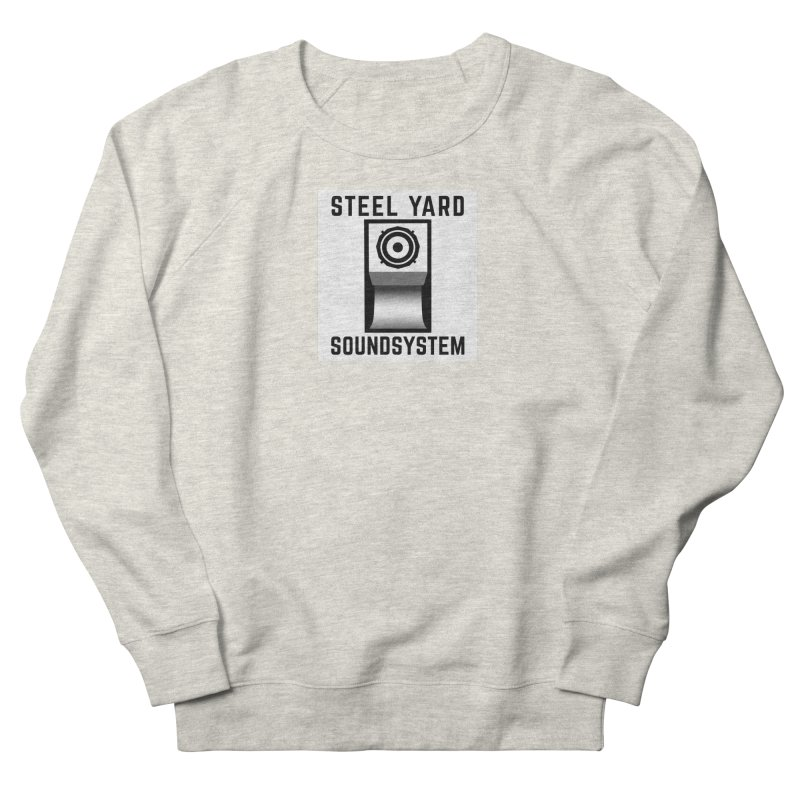 Steel Yard Scoop Speaker Graphic Men's French Terry Sweatshirt by Steelyard Soundsystem Gear