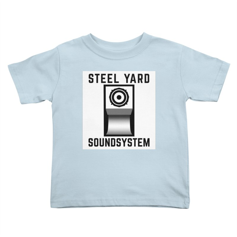 Steel Yard Scoop Speaker Graphic Kids Toddler T-Shirt by Steelyard Soundsystem Gear