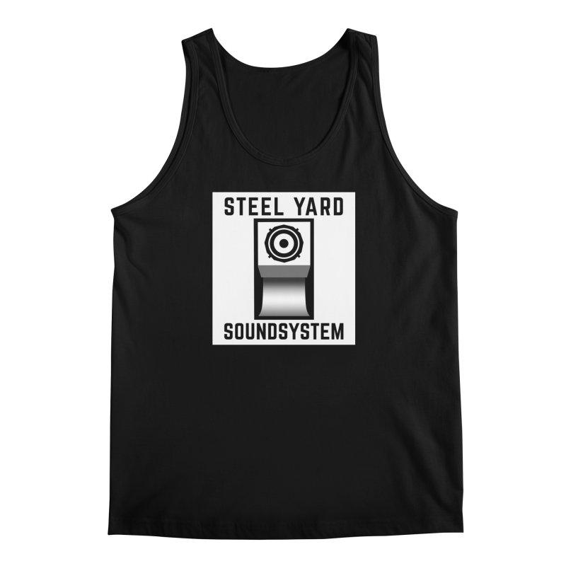 Steel Yard Scoop Speaker Graphic Men's Regular Tank by Steelyard Soundsystem Gear