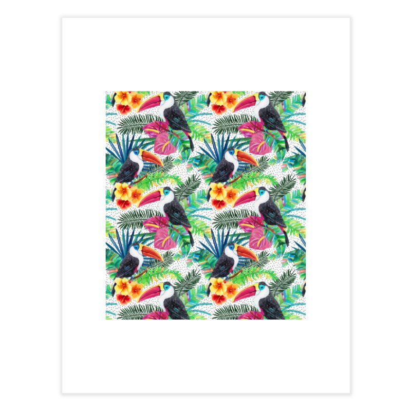 Tropical Vibe Home Fine Art Print by StellaCaraman's