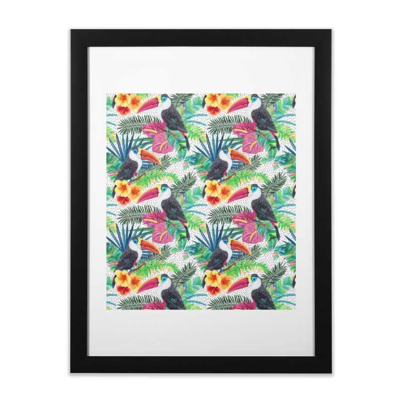 Tropical Vibe Home Framed Fine Art Print by StellaCaraman's