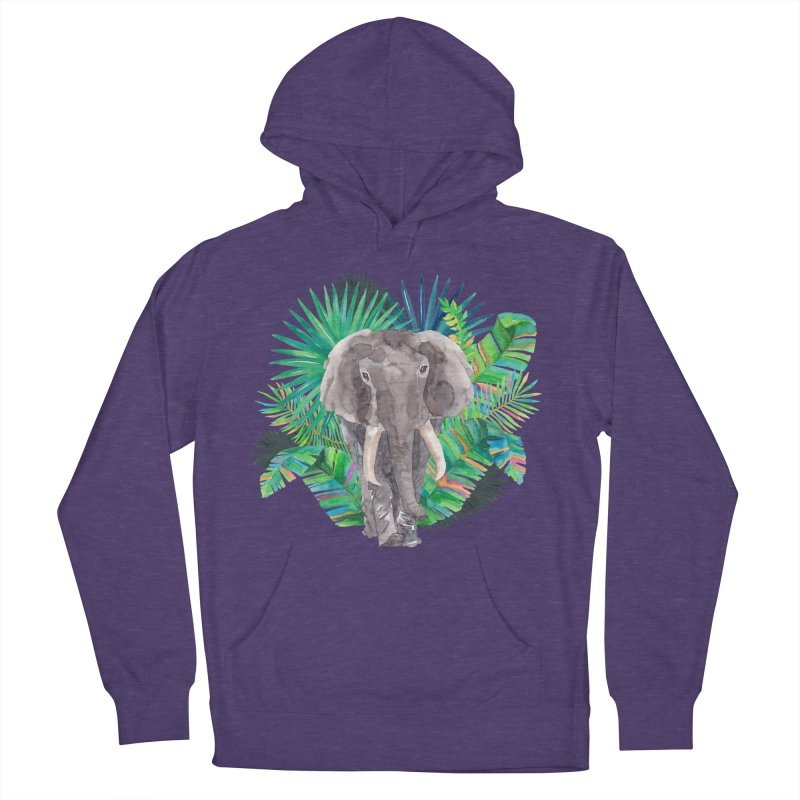 Tropical Vibe Men's Pullover Hoody by StellaCaraman's
