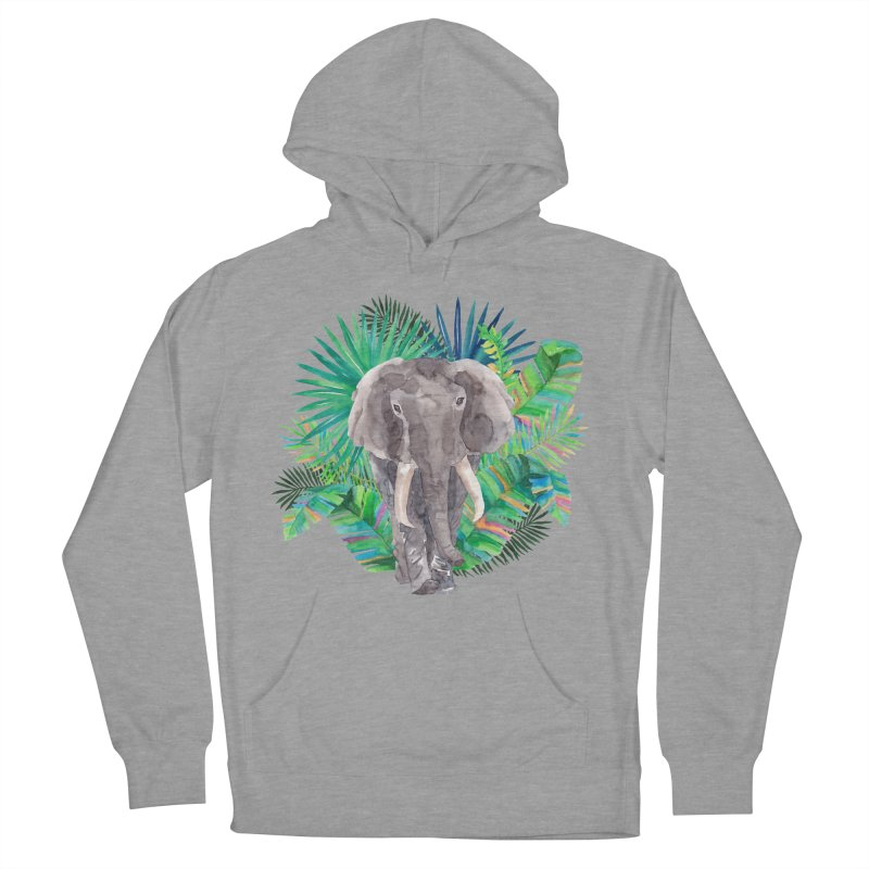 Tropical Vibe Men's French Terry Pullover Hoody by StellaCaraman's