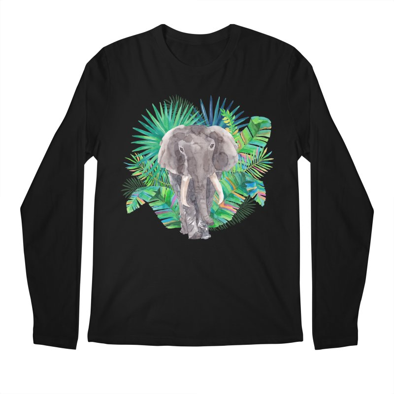 Tropical Vibe Men's Longsleeve T-Shirt by StellaCaraman's