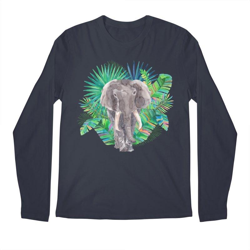 Tropical Vibe Men's Regular Longsleeve T-Shirt by StellaCaraman's