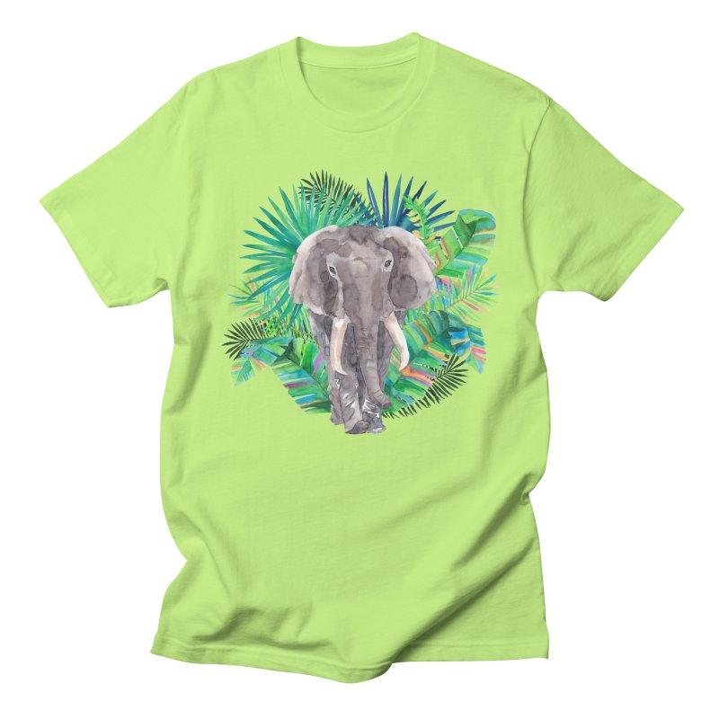 Tropical Vibe Men's Regular T-Shirt by StellaCaraman's