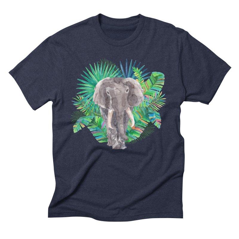 Tropical Vibe Men's Triblend T-Shirt by StellaCaraman's