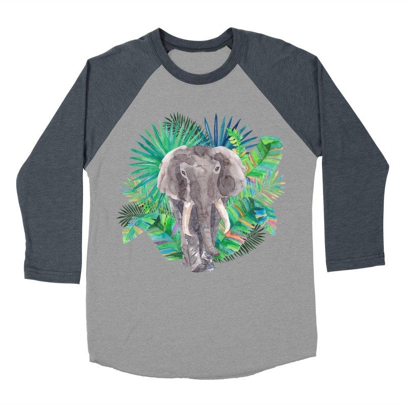 Tropical Vibe Men's Baseball Triblend T-Shirt by StellaCaraman's