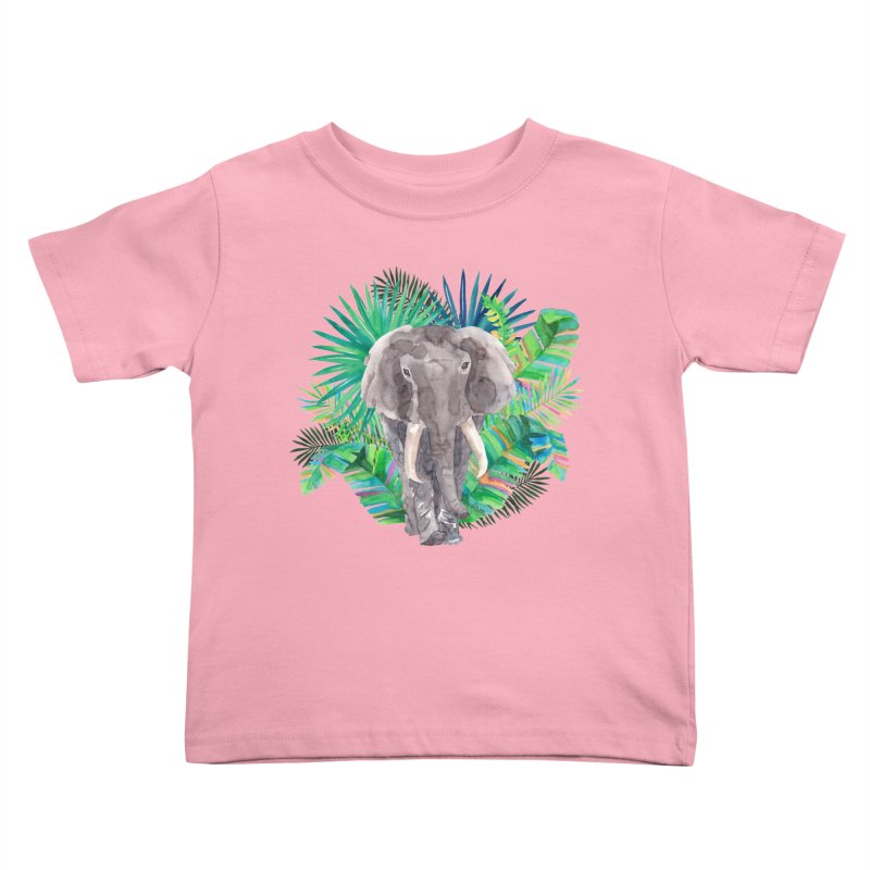 Tropical Vibe Kids Toddler T-Shirt by StellaCaraman's