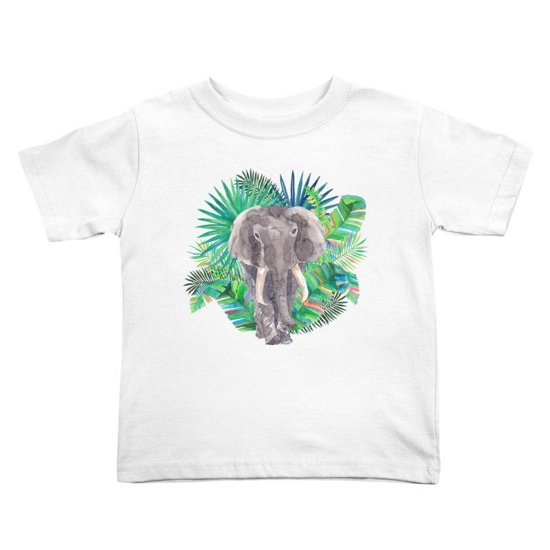 Tropical Vibe Kids Toddler T-Shirt by StellaCaraman's