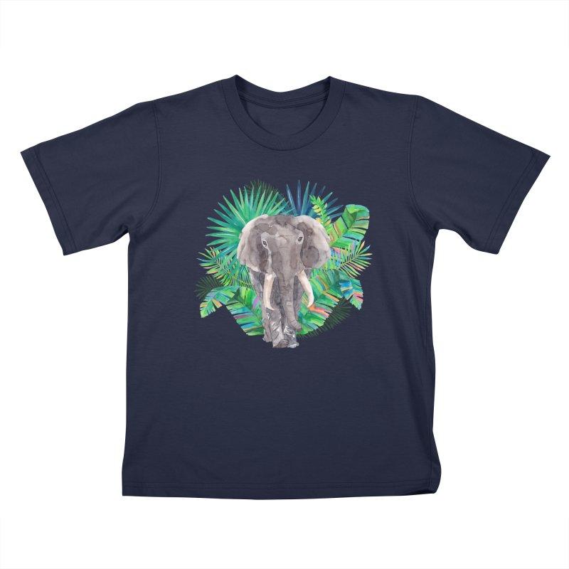 Tropical Vibe Kids T-shirt by StellaCaraman's