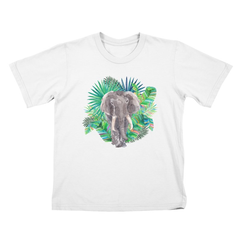 Tropical Vibe Kids T-Shirt by StellaCaraman's