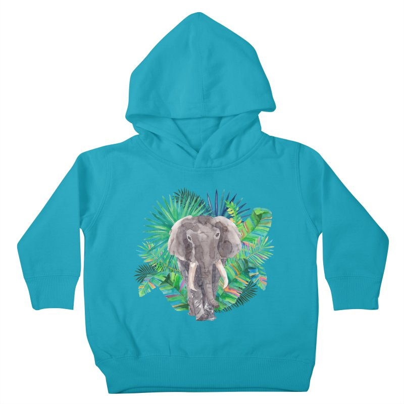 Tropical Vibe Kids Toddler Pullover Hoody by StellaCaraman's