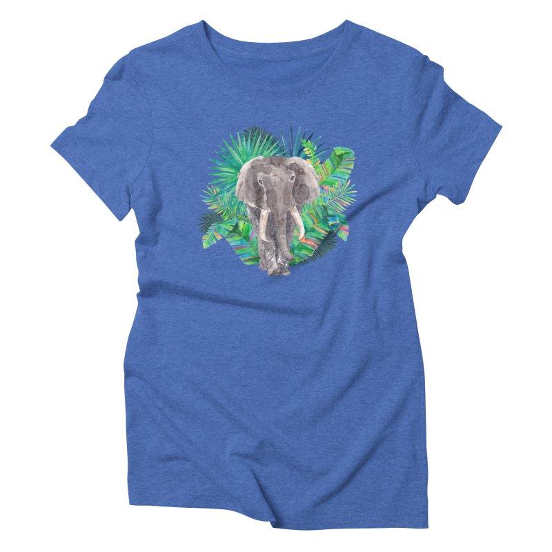 Tropical Vibe Women's Triblend T-Shirt by StellaCaraman's