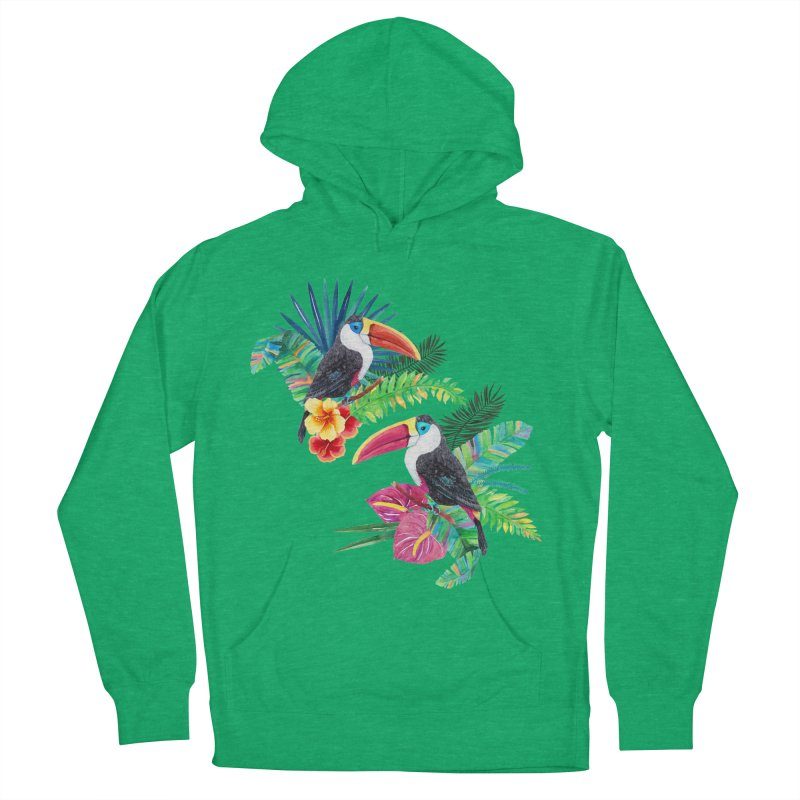 Toucan Birds Women's Pullover Hoody by StellaCaraman's