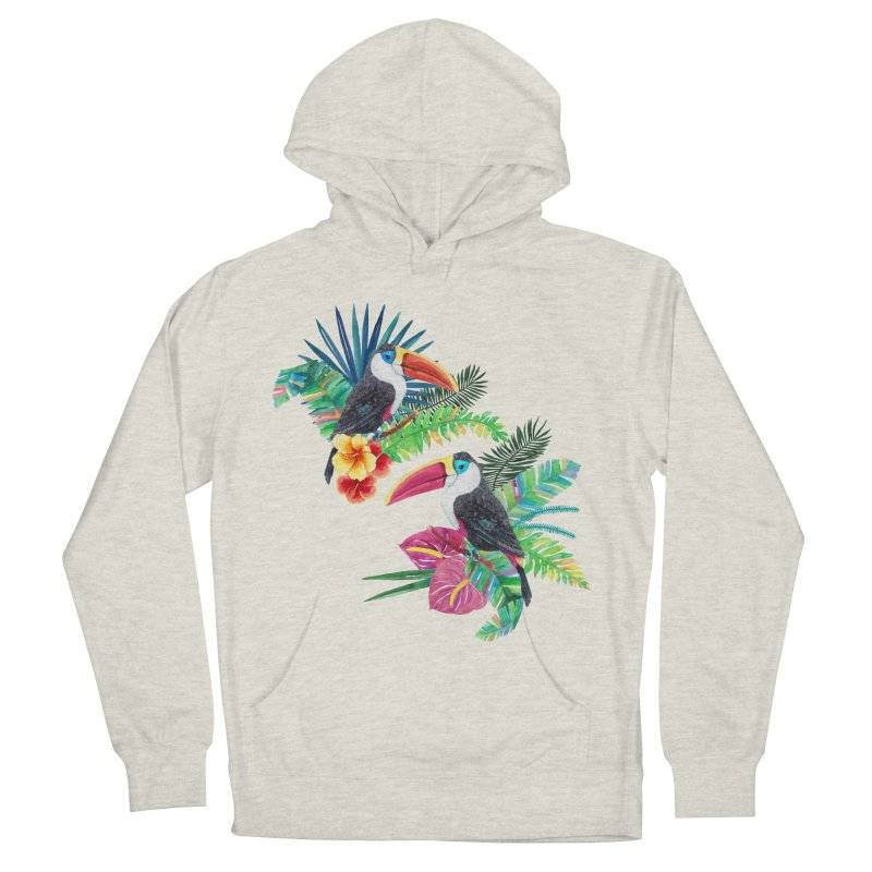 Toucan Birds Women's French Terry Pullover Hoody by StellaCaraman's