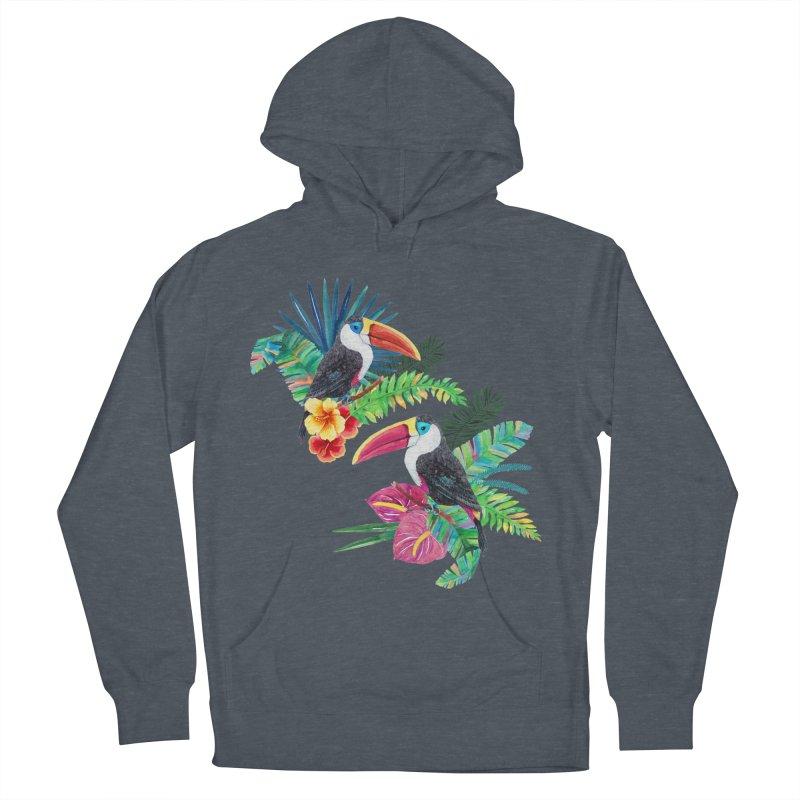 Toucan Birds Men's Pullover Hoody by StellaCaraman's