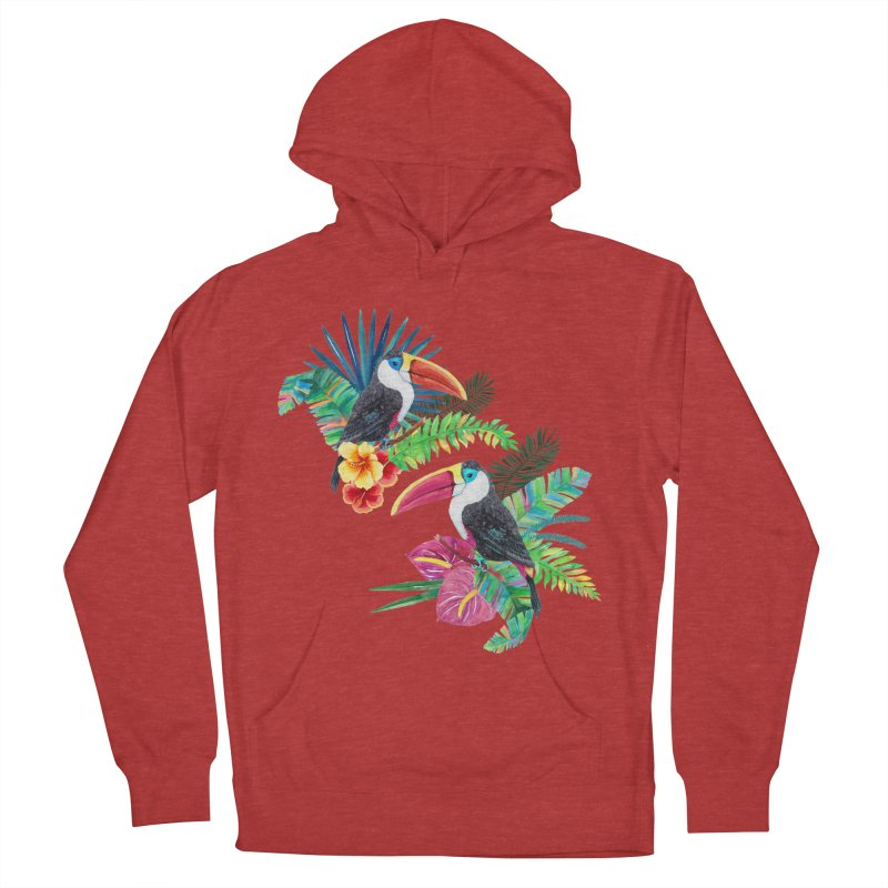 Toucan Birds Men's Pullover Hoody by StellaCaraman's