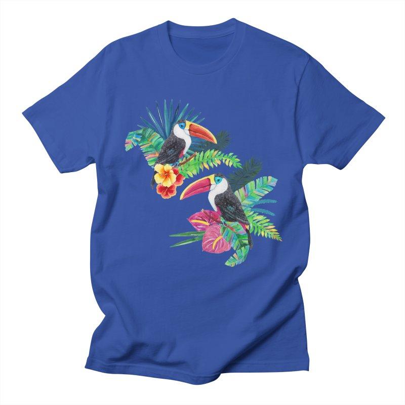 Toucan Birds Men's T-Shirt by StellaCaraman's
