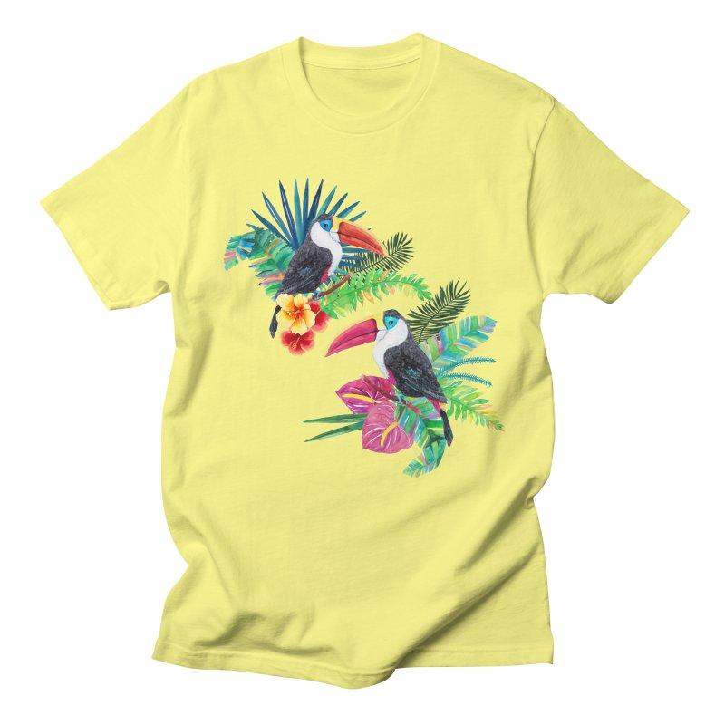 Toucan Birds Men's Regular T-Shirt by StellaCaraman's