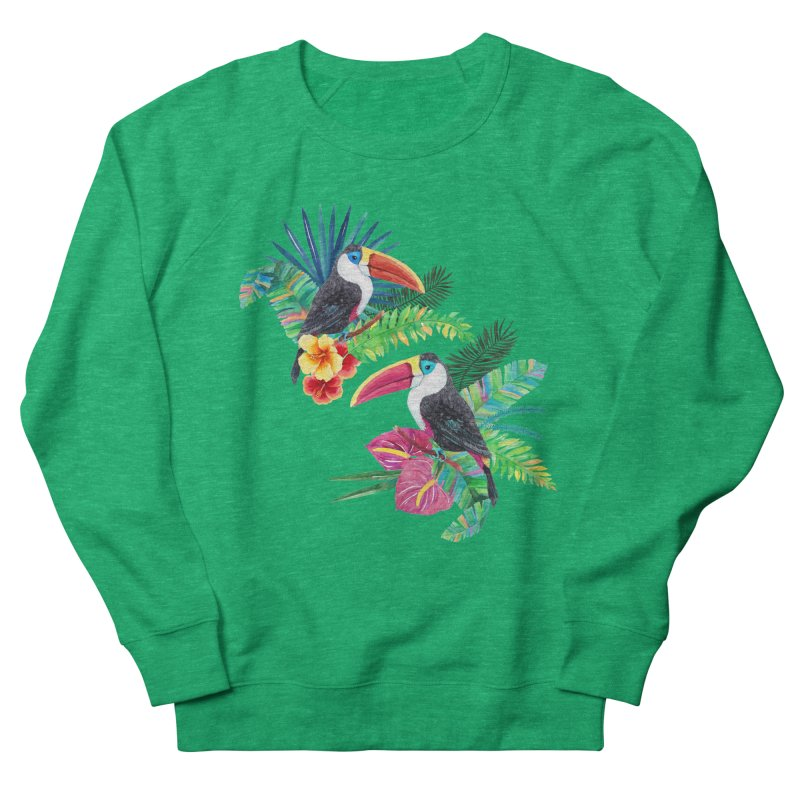Toucan Birds Men's Sweatshirt by StellaCaraman's