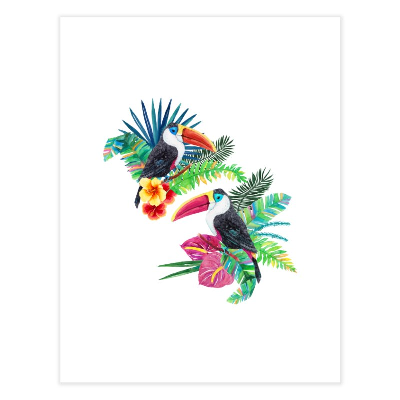 Toucan Birds Home Fine Art Print by StellaCaraman's