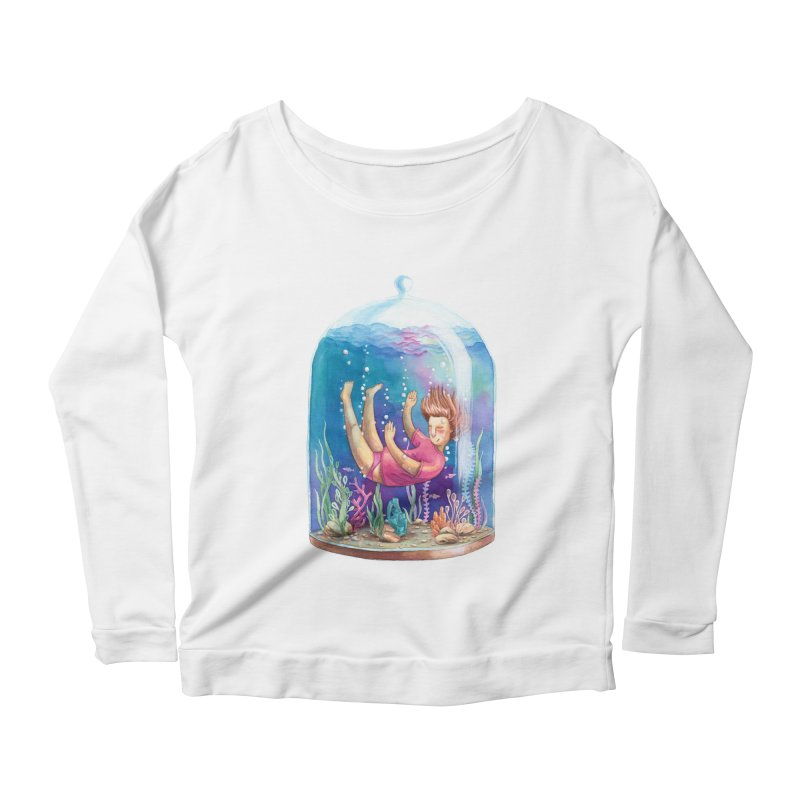 Dream NR1 Women's Longsleeve Scoopneck  by StellaCaraman's
